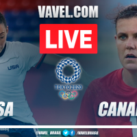 Goals and Highlights: USA 0-1 Canada at the Olympic Games Tokyo 2020
