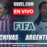 Goles y resumen del Chivas Femenil 1-2 Argentina Femenil en Amistoso 2021