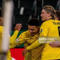 Borussia Monchengladbach 0-1 Borussia Dortmund: Sancho sends BVB to semi finals