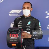 Spanish GP Qualifying: Lewis Hamilton edges Max Verstappen to claim 100th Formula 1 pole position