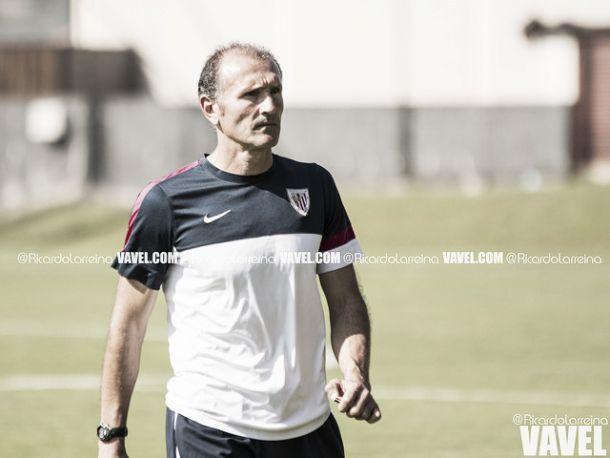 Juan Luis Fuentes: ''Estoy muy satisfecho por los tres puntos''