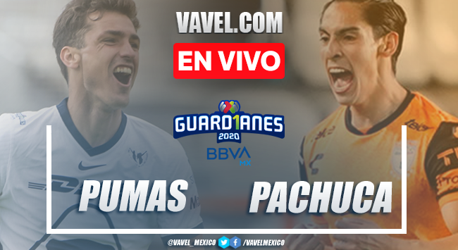 Resumen: Pumas 0-0 Pachuca en liguilla Liga MX Guard1anes 2020