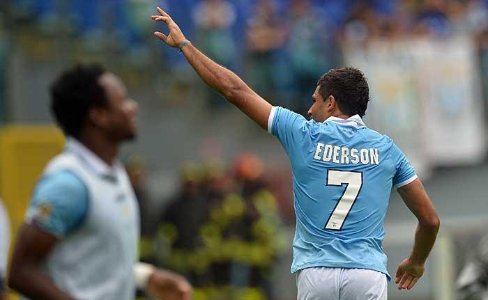 Ederson sofre mais uma lesão e desfalcará a Lazio pelo resto do campeonato