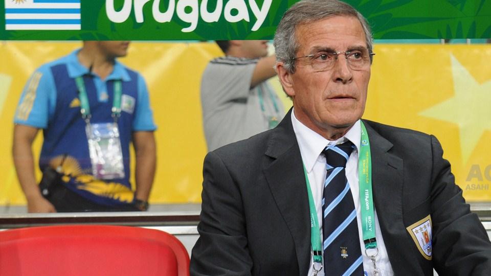 """Óscar Tabárez: """"Desde o sorteio sabíamos que o jogo para ganhar era contra a Nigéria"""""""