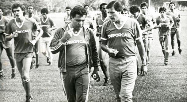Cuando Óscar Washington Tabárez dirigió al Deportivo Cali