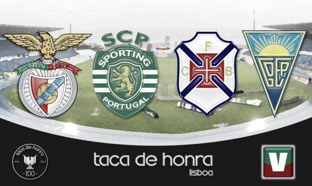 Taça de Honra, Sporting campeón y Estoril se lleva el de consolación