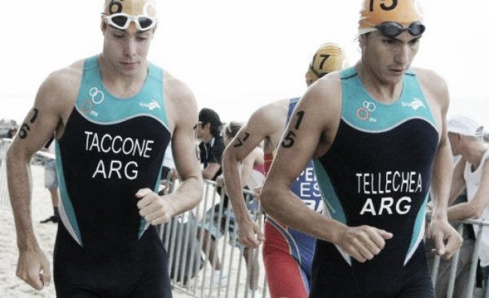 Río 2016: floja actuación en el triatlón