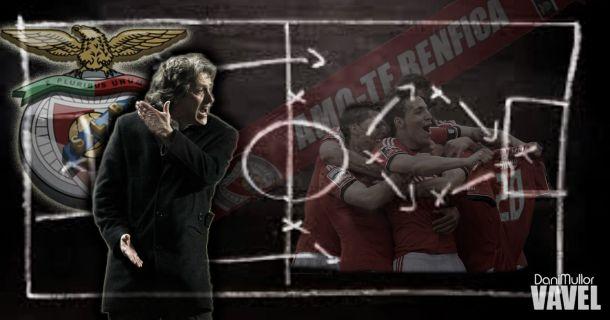 La pizarra de Jorge Jesus: análisis táctico del Benfica