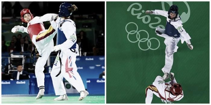 Calvo y González reeditan la noche mágica del taekwondo