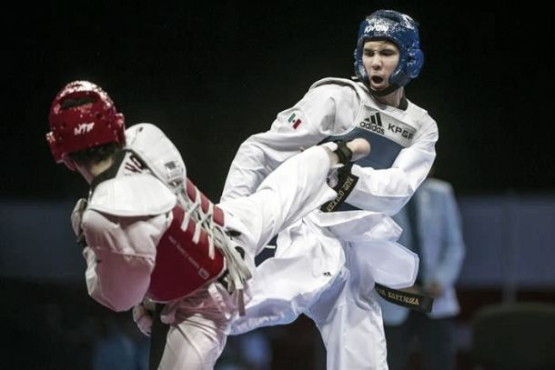 César Rodríguez y Anel Félix consiguen oro y bronce en Taekwondo