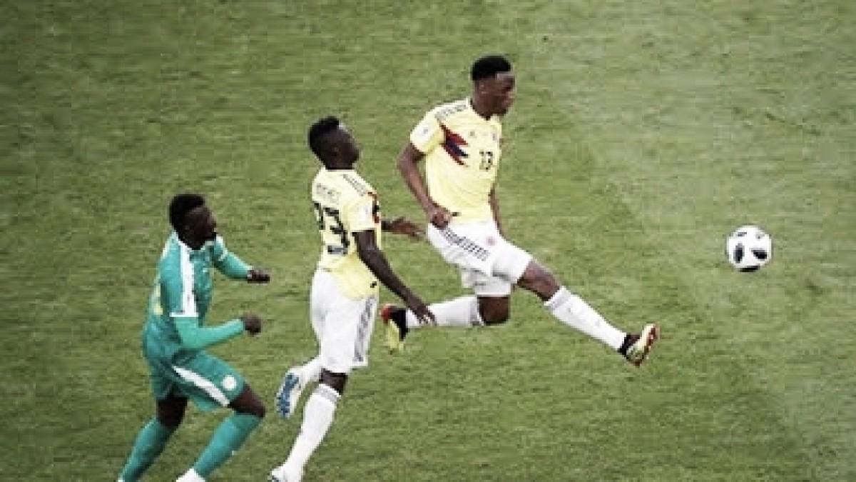 Imágenes Senegal- Colombia: La 'tricolor' pasa de primero en su grupo