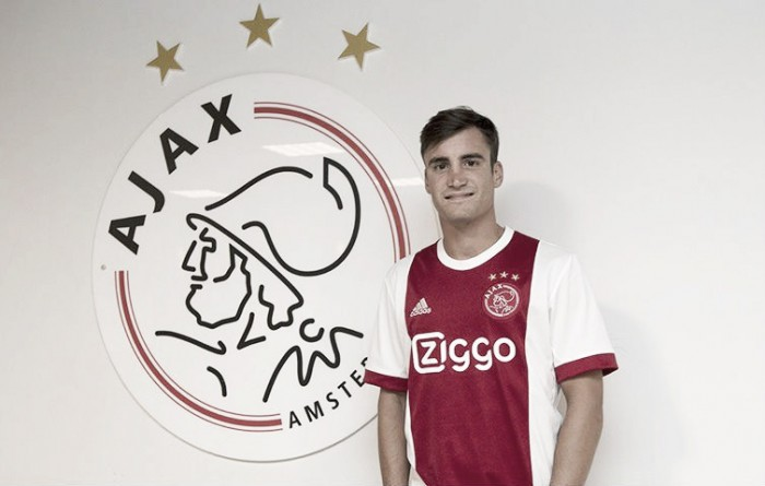 Capitão do Independiente, defensor Nicolas Tagliafico fecha com Ajax