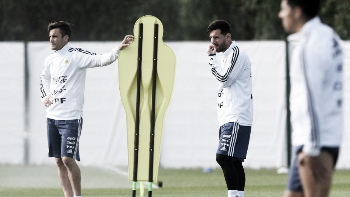 """Tagliafico sobre Messi: """"Es raro venir a la Selección y que no esté"""""""