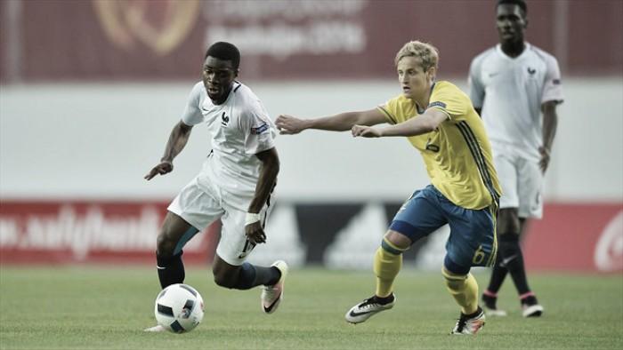 Sweden under-17's 1-0 France under-17's: Bergqvist strike sends holders crashing out