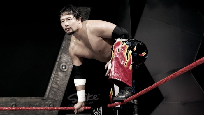 Tajiri on a potential WWE main roster return