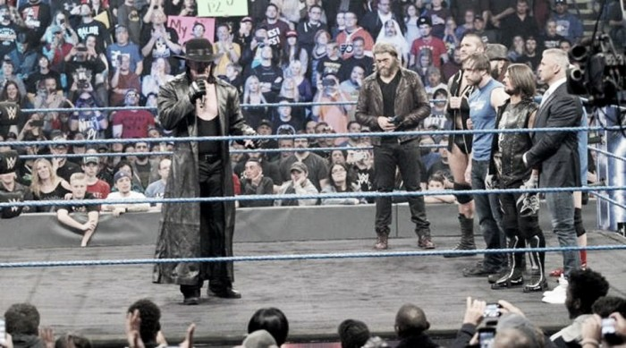 Undertaker to get a title match at the Royal Rumble?