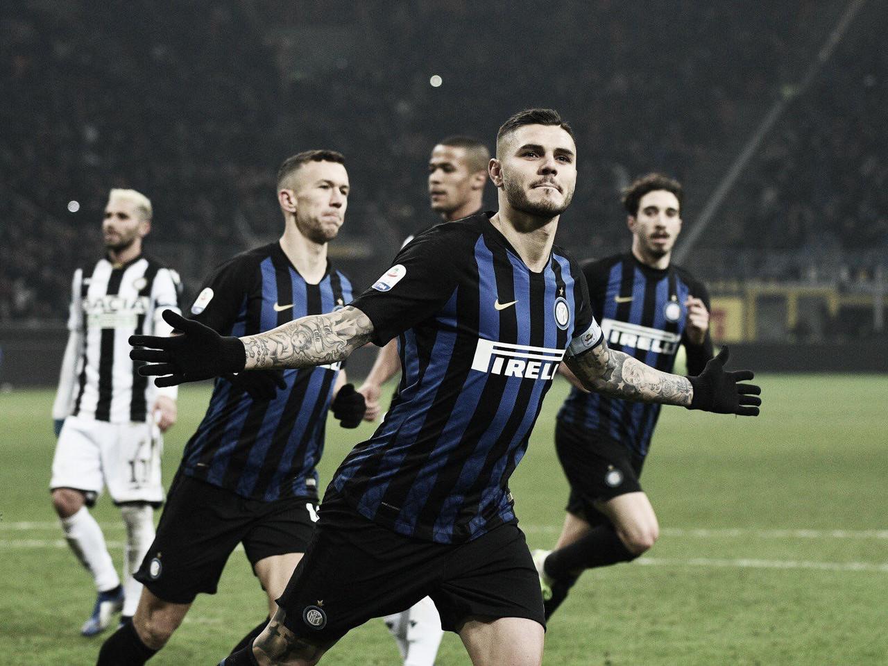 Internazionale se recupera de eliminação na Champions League e derrota Udinese