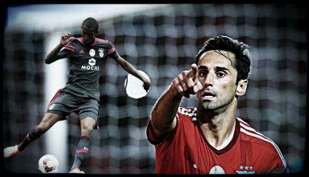 Benfica: Jonas faz 'truque do chapéu' depois de Talisca
