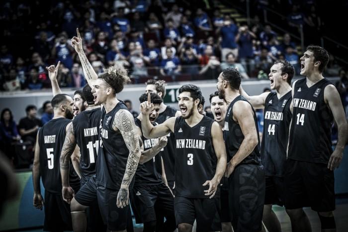 Nueva Zelanda eliminó a Filipinas