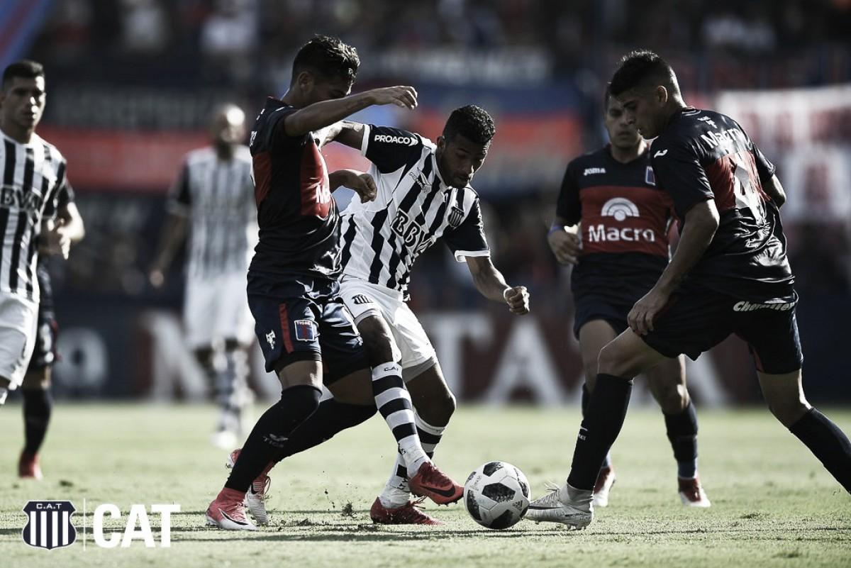 Lucas Olaza desperdiça pênalti, Talleres empata com Tigre e permance na vice-liderança
