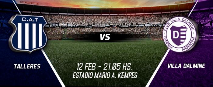 Resultado Talleres de Córdoba - Villa Dálmine (2-1)