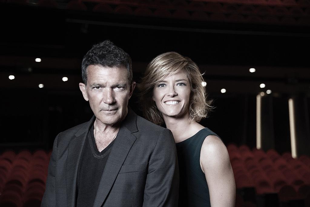 Antonio Banderas y María Casado, presentadores de la 35º edición de los Premios Goya