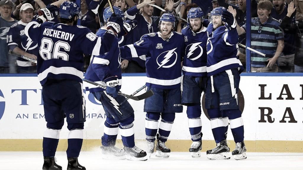 Tampa y Kucherov hacen historia en una impresionante temporada