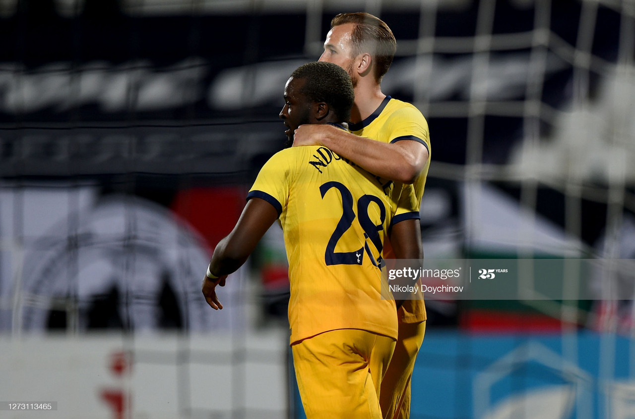 Lokomotiv Plovdiv 1-2 Tottenham Hotspur: Ndombele bails out Spurs with the help of two red cards
