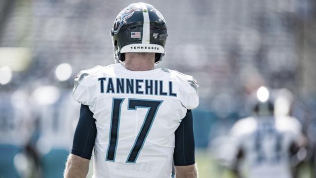 ¿Ryan Tannehill podrá levantar a los Titans?