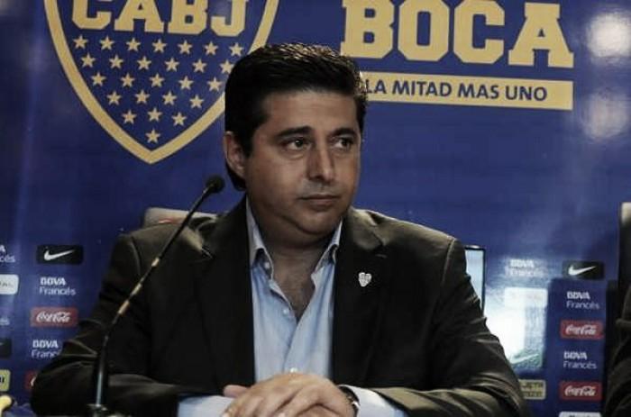 """Angelici: """"Tevez va a terminar su carrera en Boca"""""""