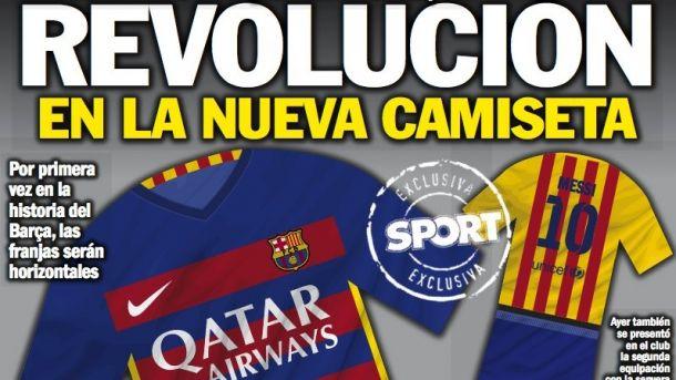 La nueva camiseta del Barça para el 2015/16