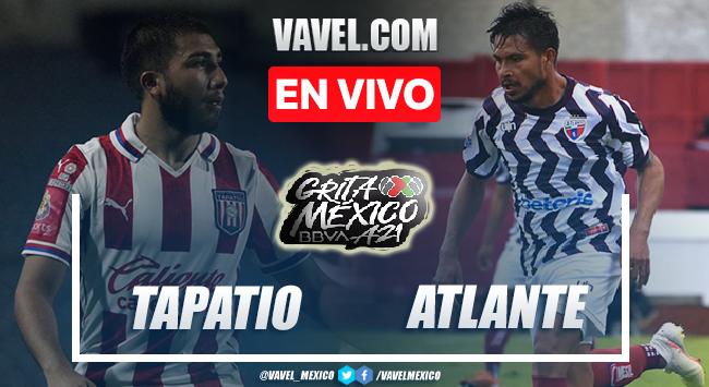 Goles y resumen Tapatío 1-4 Atlante en Liga de Expansión MX