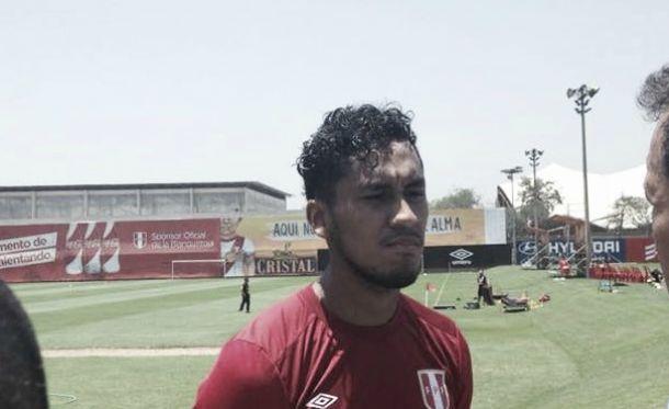 """Renato Tapia: """"Me siento muy bien, pero no sé si para el viernes"""""""