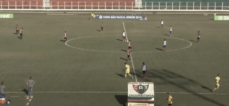 Taquaritinga empata com Bahia e se classifica para a próxima fase da Copinha