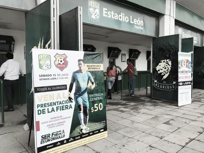 A la venta los boletos para el León vs Herediano