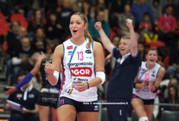 Volley, A1 femminile - Igor Novara: Signorile e Pedullà a rischio