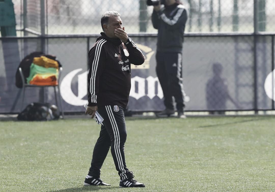 Gerardo Martino presenta prelista de Copa Oro 2019
