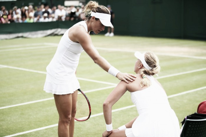 Wimbledon: Anastasia Potapova ends her first Grand Slam main draw match in heartbreaking fashion