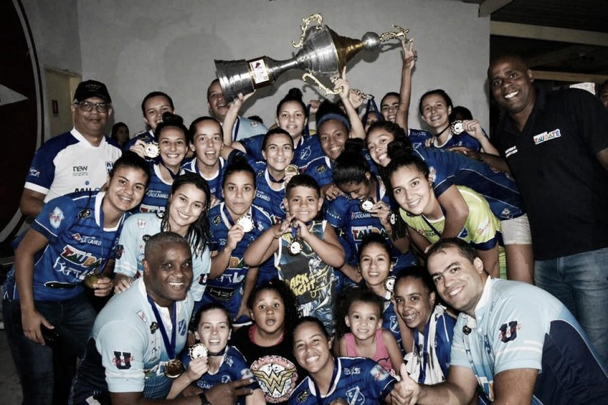'Futebol feminino não é esporte': no Dia da Mulher, jogadoras do Taubaté rebatem preconceito