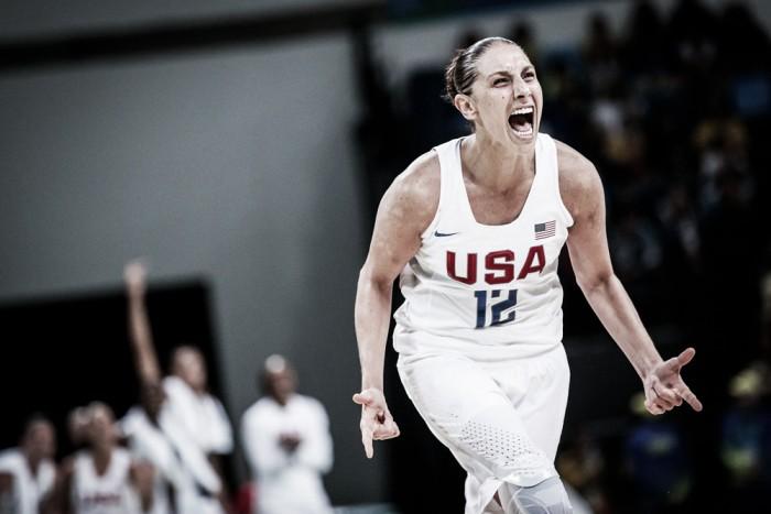 Estados Unidos bate Espanha e leva sexto ouro consecutivo no basquete feminino