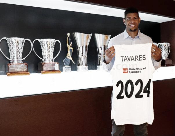 'Edy' Tavares renueva con el Real Madrid por cinco años