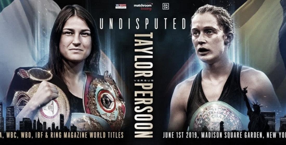 Boxeo Internacional: Taylor vs Persoon en New York
