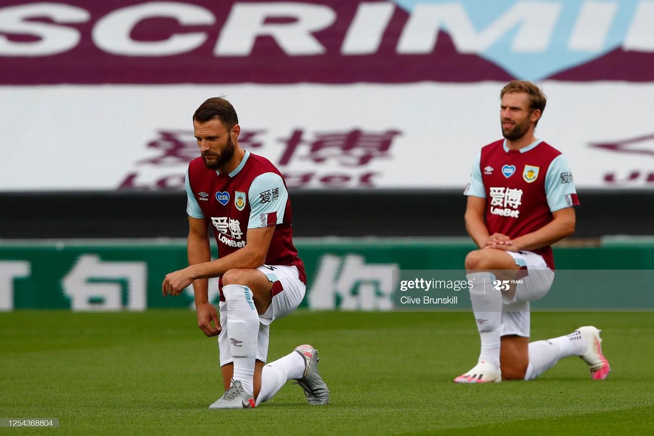 Burnley's left-back battle