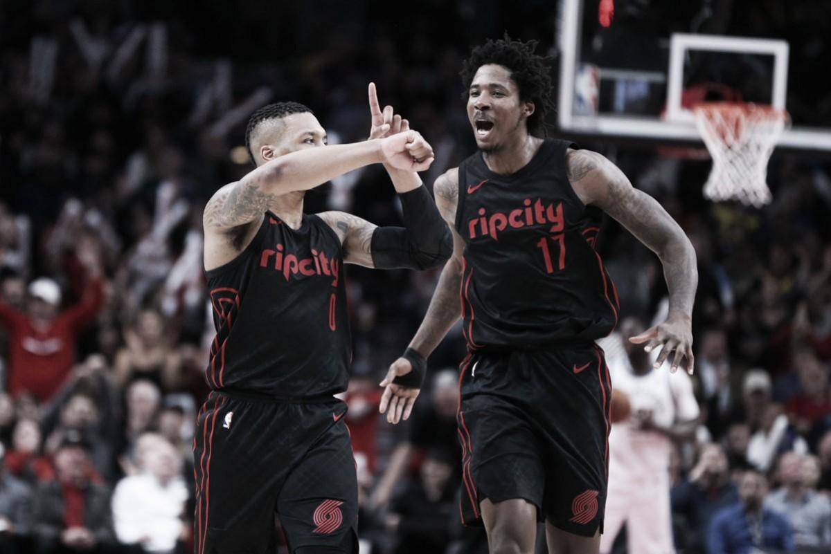 NBA, i Warriors cadono ancora a Portland. Denver riparte contro i Lakers