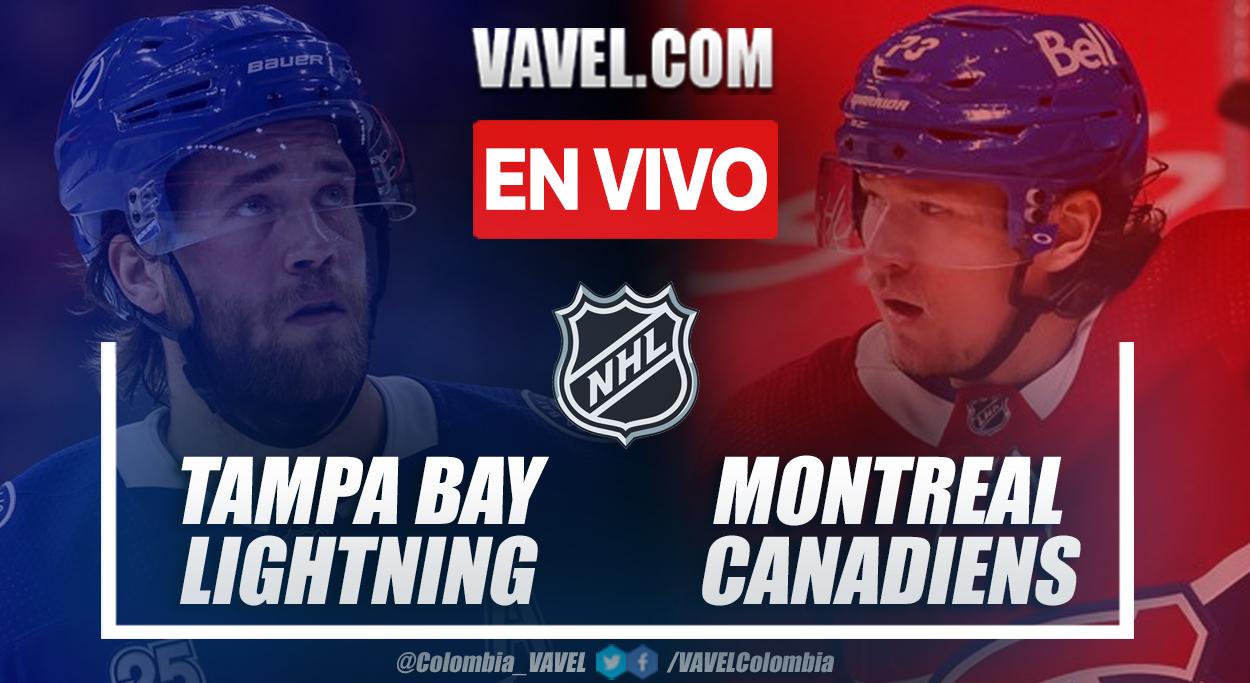 Gol y resumen Lightning 1-0 Canadiens: ¡Tampa Bay es bicampeón!
