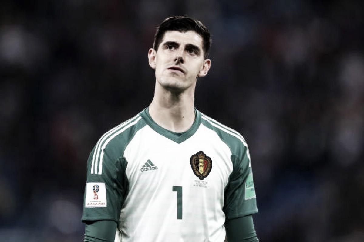 Irritado, Courtois critica atuação da França contra Bélgica: ''Não jogaram nada''