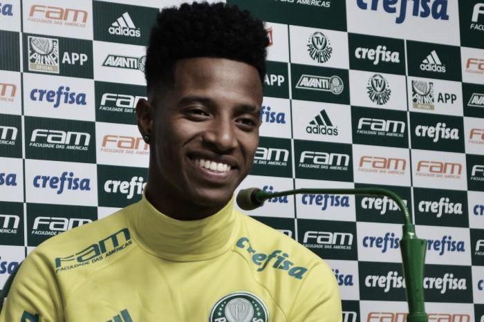 Tchê Tchê vibra com gol marcado e prega foco total para ser campeão Brasileiro