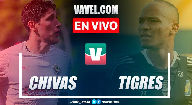 Resumen: Tigres 0-0 Chivas en Amistoso 2021