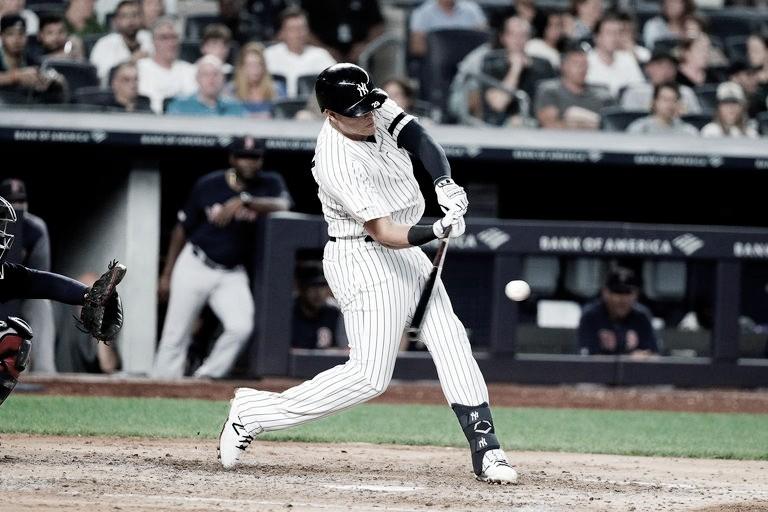 Jonrón de Giovanny Urshela no evita la caída de los Yankees