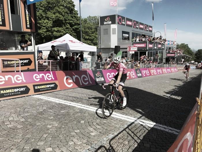 Giro, Dumoulin vince a Oropa e consolida maglia rosa